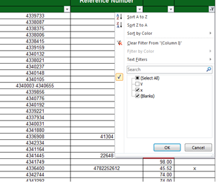 Excel Data 1